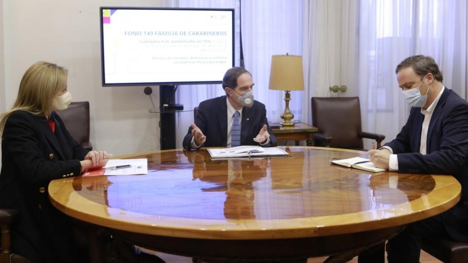 Gobierno presenta con urgencia proyecto para monitorear de manera telemática casos de VIF