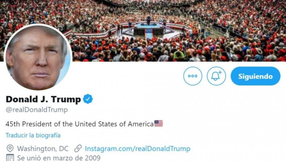 Twitter restringe publicación de Trump sobre protestas de Minneapolis por