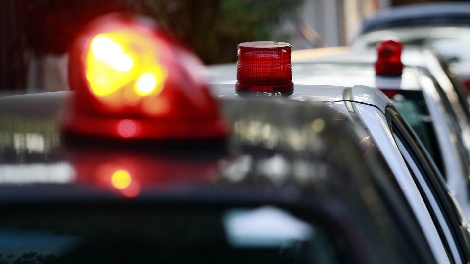 Carabineros detuvo a dos individuos que asaltaron a repartidor de comida a domicilio en Quilicura