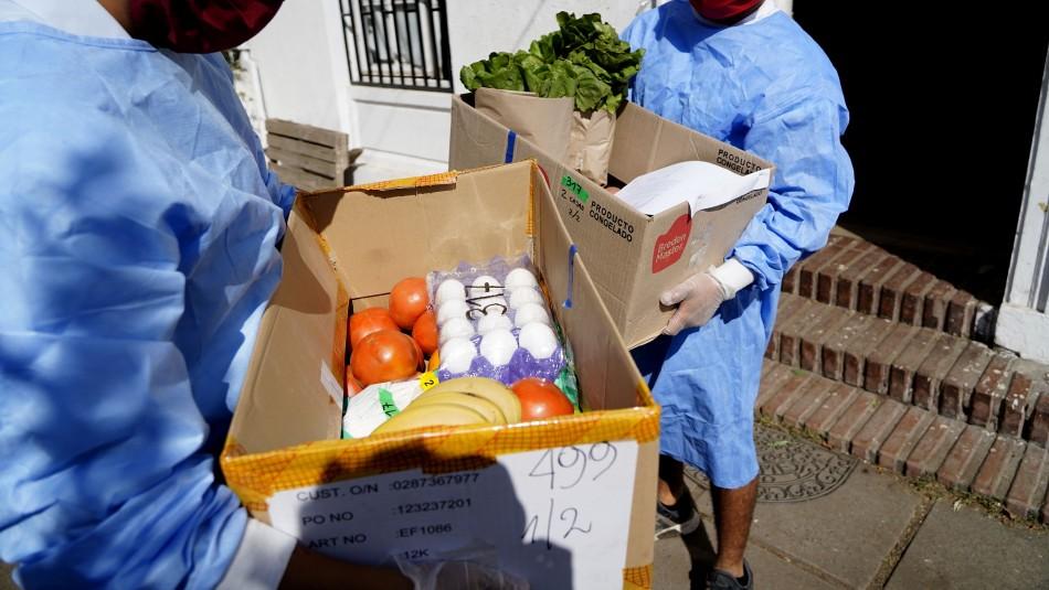 ¿Cómo sanitizar correctamente los productos del delivery?