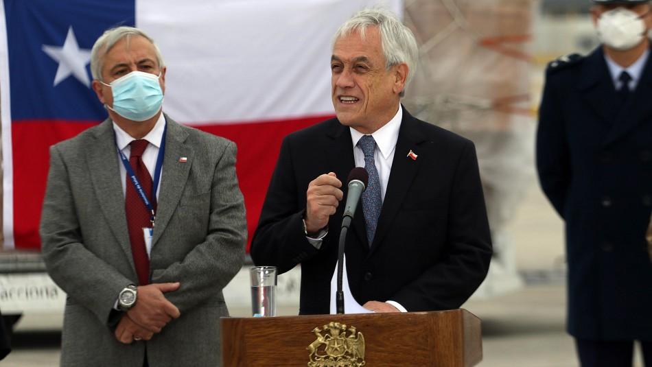 Piñera por entrega de cajas en vez de dinero: