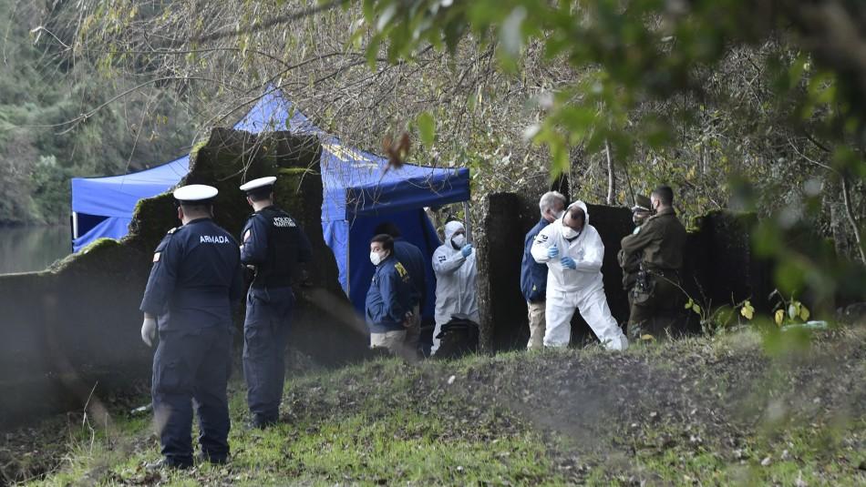 Crimen de Helena Bustos: Encuentran pieza clave en la reconstitución de escena del asesinato