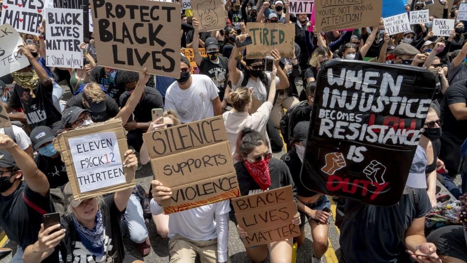 Protestas se intensifican en Estados Unidos en respuesta al tono marcial de Trump