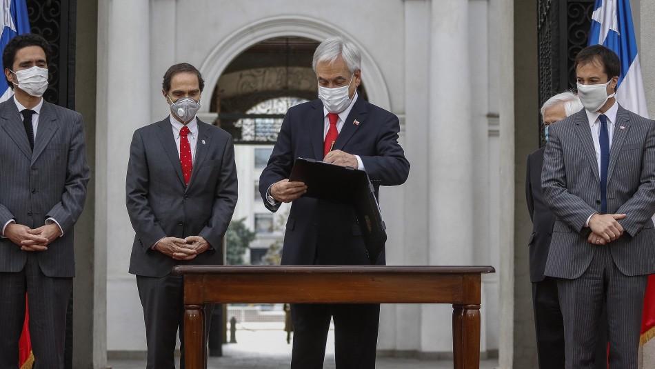 Piñera promulga ley de portabilidad financiera: