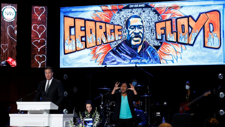 Sigue la ceremonia en homenaje a George Floyd en Minneapolis