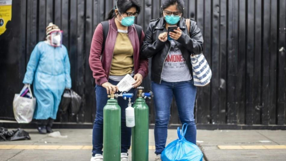 Perú importará oxígeno para pacientes con coronavirus: