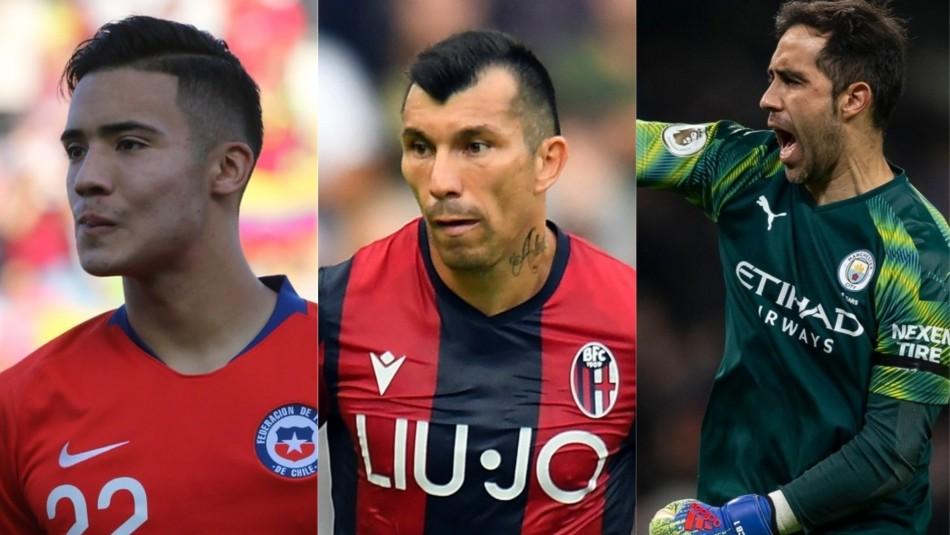 Las movidas de futbolistas chilenos por el mundo.