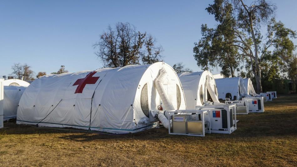46 pacientes fueron evacuados del hospital modular Sótero del Río por falla en calefacción