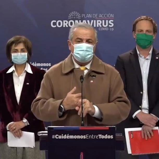EN VIVO | Gobierno actualiza cifras de coronavirus en Chile