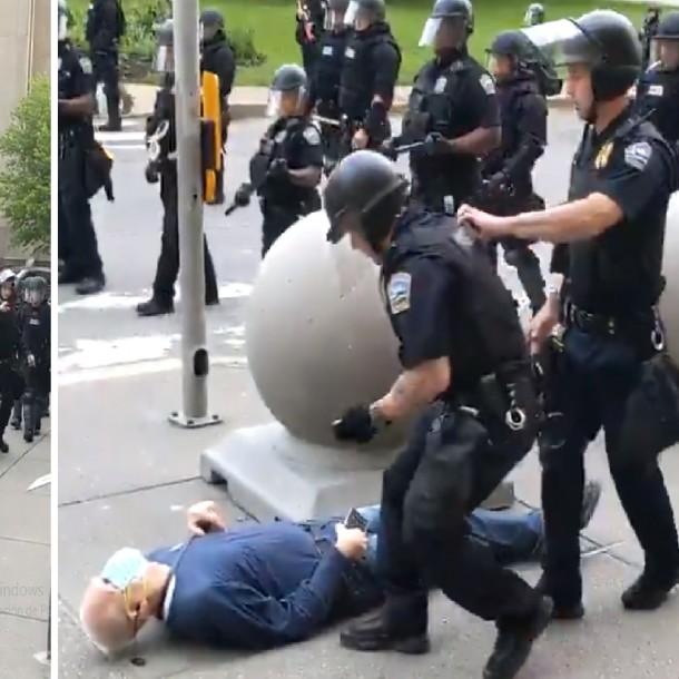 Video muestra abuso de la fuerza policial en Nueva York durante protestas por muerte de George Floyd