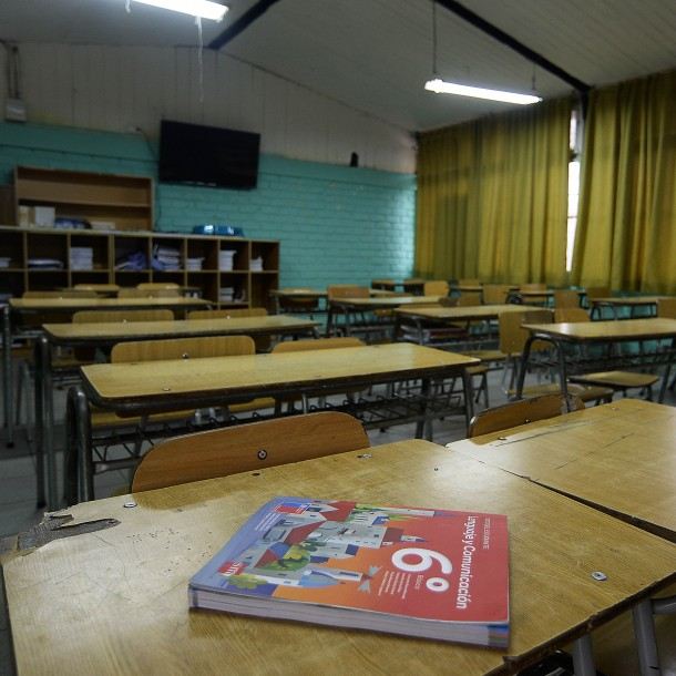 Lo más visto: Colegio de Profesores no ve un pronto regreso a clases presenciales