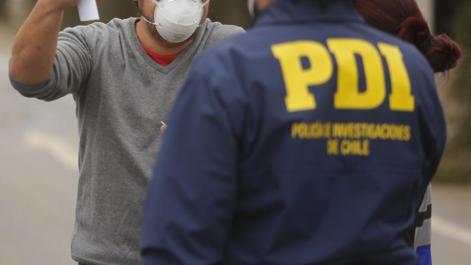 PDI refuerza vigilancia a nivel nacional y registra 232 funcionarios contagiados