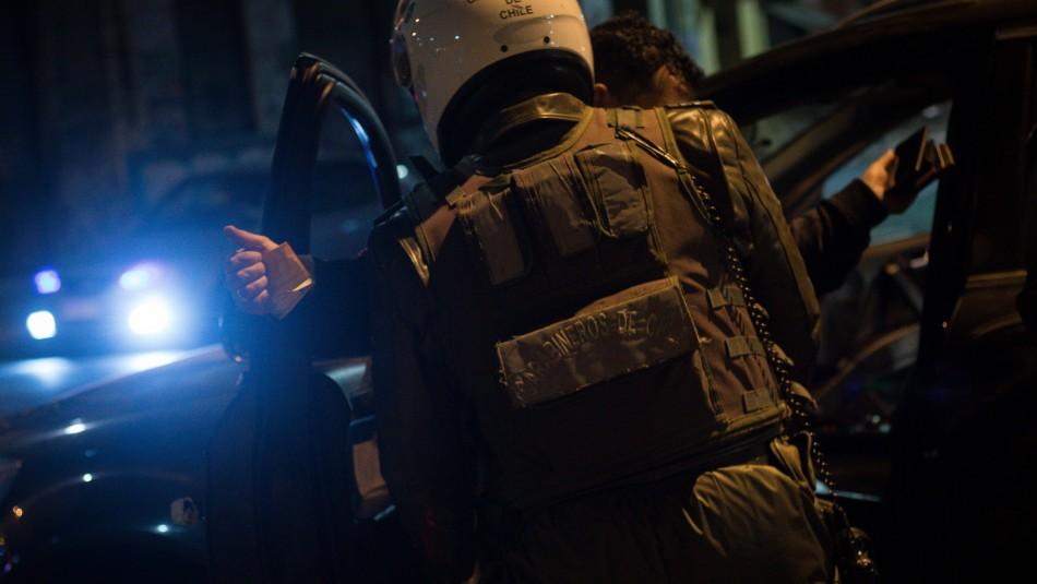 Carabineros informa 190 detenciones por no respetar toque de queda durante la última noche