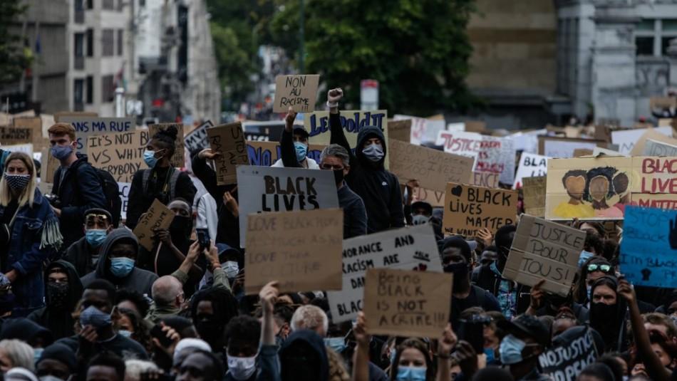Ola de manifestaciones antirracistas se realizan en Europa por muerte de George Floyd
