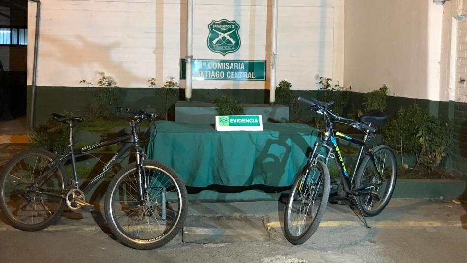 Violento enfrentamiento en Barrio Yungay deja un detenido por robo de bicicletas