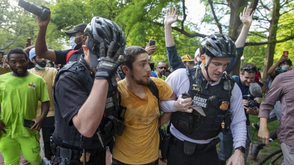 EEUU: Detectan coronavirus en fuerzas de seguridad desplegadas en protestas antirracistas