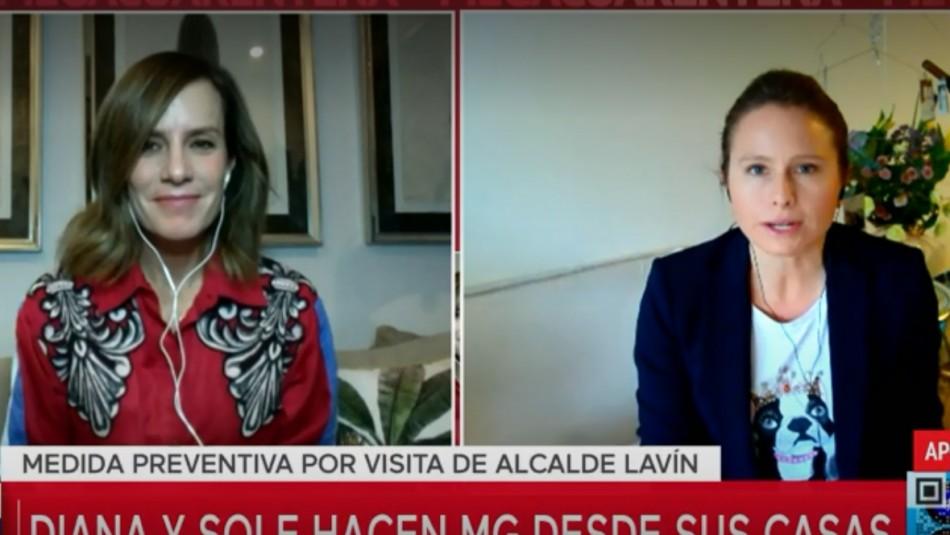 Diana Bolocco y Soledad Onetto conducen