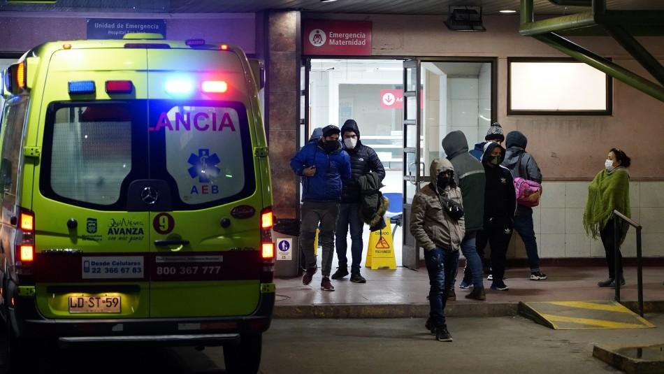 Confirman cinco brotes de coronavirus en hospital de Concepción: Cifra de contagiados llega a 114