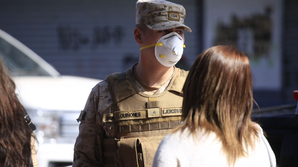Detenida por contagio de coronavirus en Metro Lo Valledor: