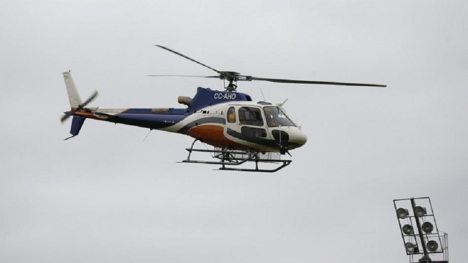 Confirman multas de $15 millones para personas que viajaron en helicópteros violando cordones sanitarios