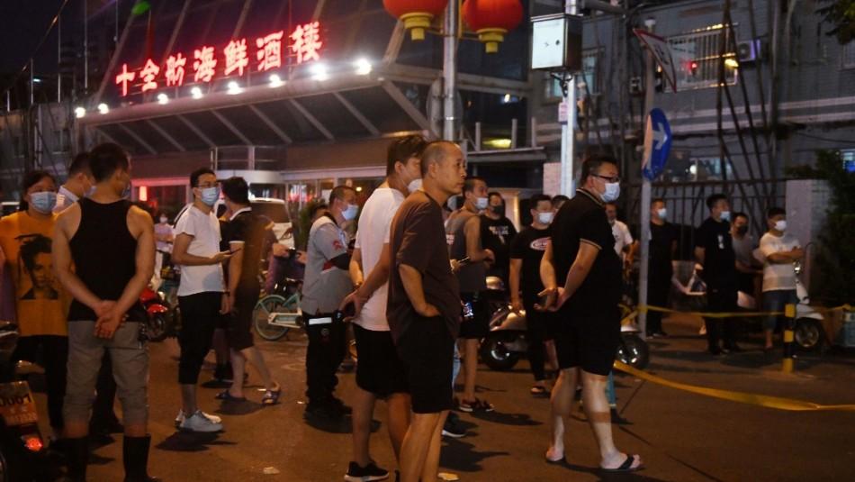 Nuevos casos domésticos en Pekín alertan sobre posible nueva oleada de coronavirus