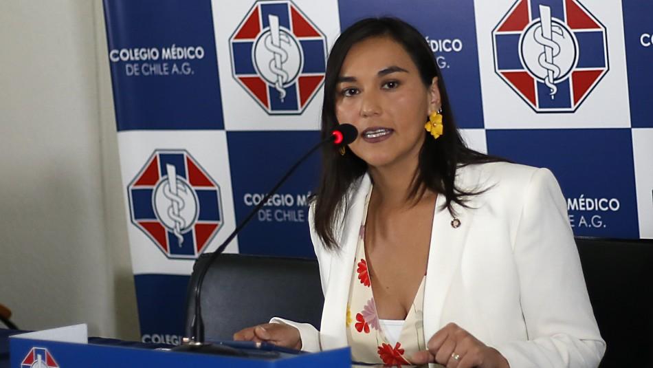 Izkia Siches brinda apoyo a nuevo ministro de Salud: