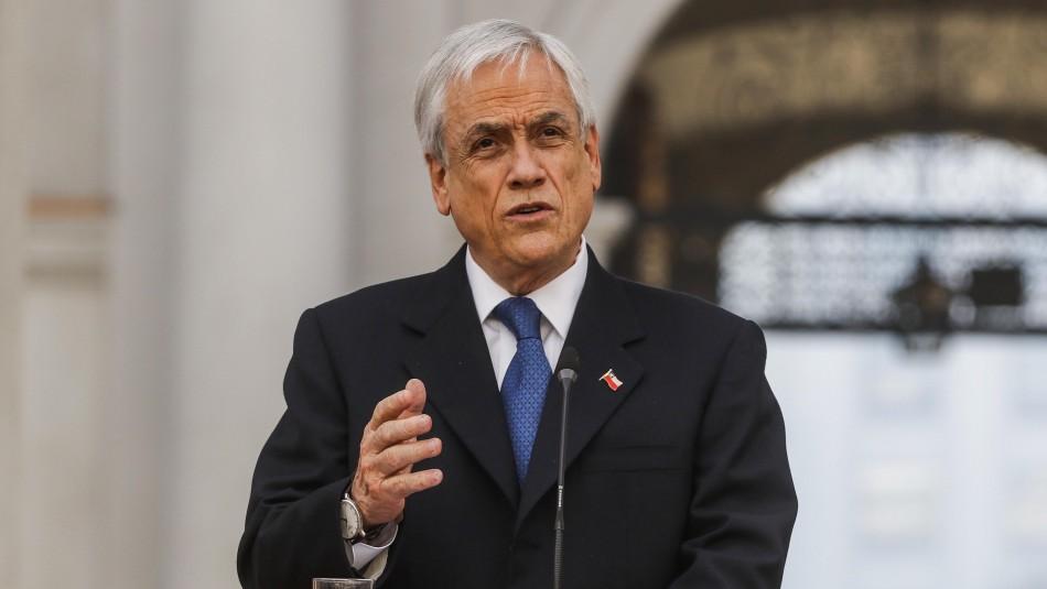 Presidente Piñera realizará cadena nacional esta noche y abordará Plan de Emergencia por coronavirus