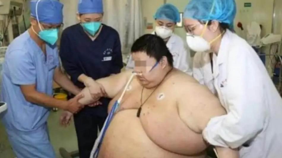 Un hombre aumentó 100 kilos tras estar cinco meses aislado en Wuhan por la cuarentena