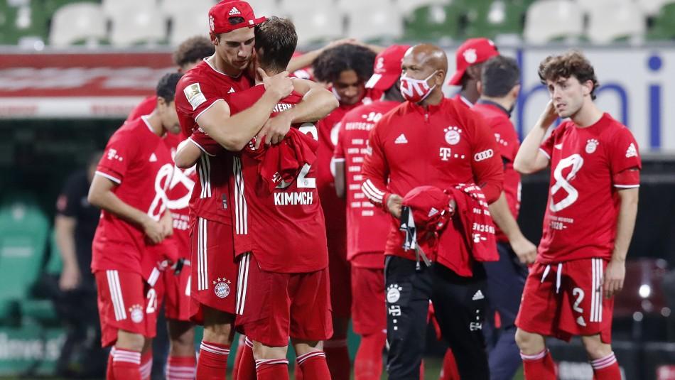 Bayern Munich se titula campeón en Alemania.