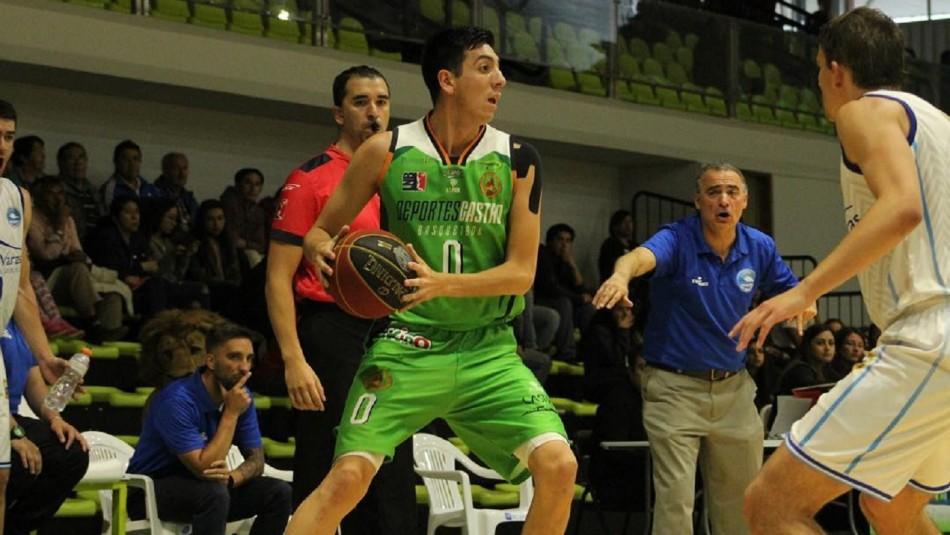 Basquetbolista Daniel Arcos reveló su homosexualidad.