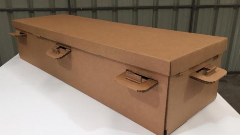 Seremi de Salud rechaza fabricación de ataúdes de cartón por no cumplir medidas básicas