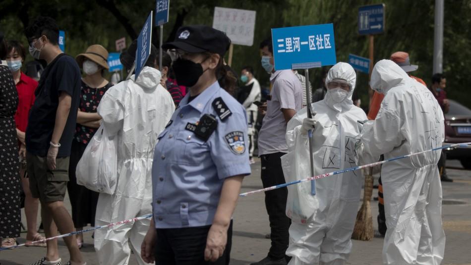 Pekín vuelve a confinarse y la actividad se paraliza tras rebrotes de coronavirus