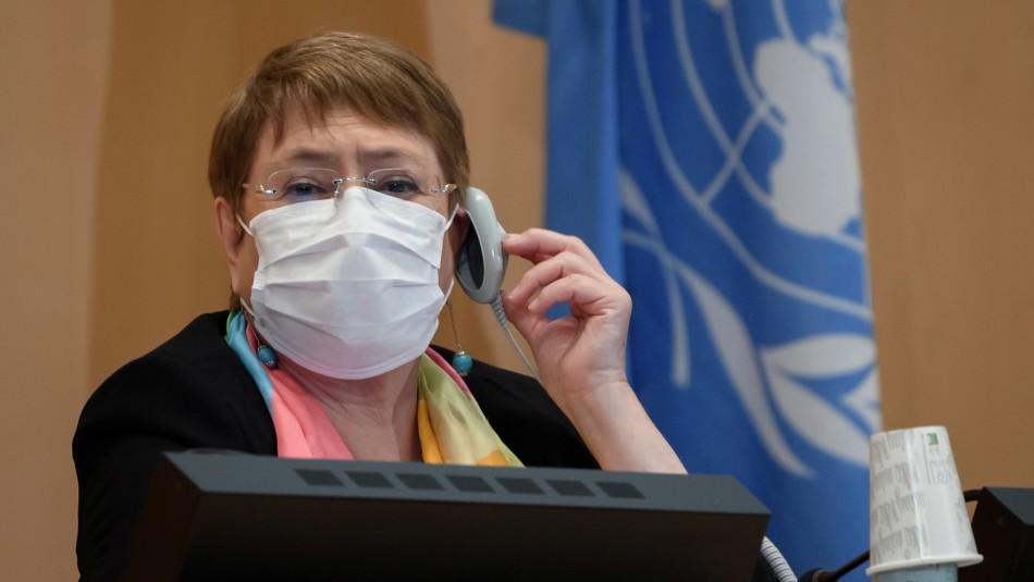 Michelle Bachelet denuncia que muerte de George Floyd fue un acto de