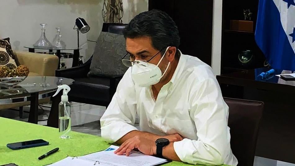 Presidente de Honduras y su esposa dan positivo a coronavirus