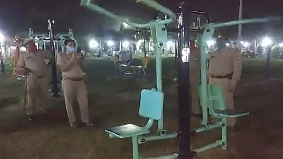 Habitantes de la India reportan a la policía