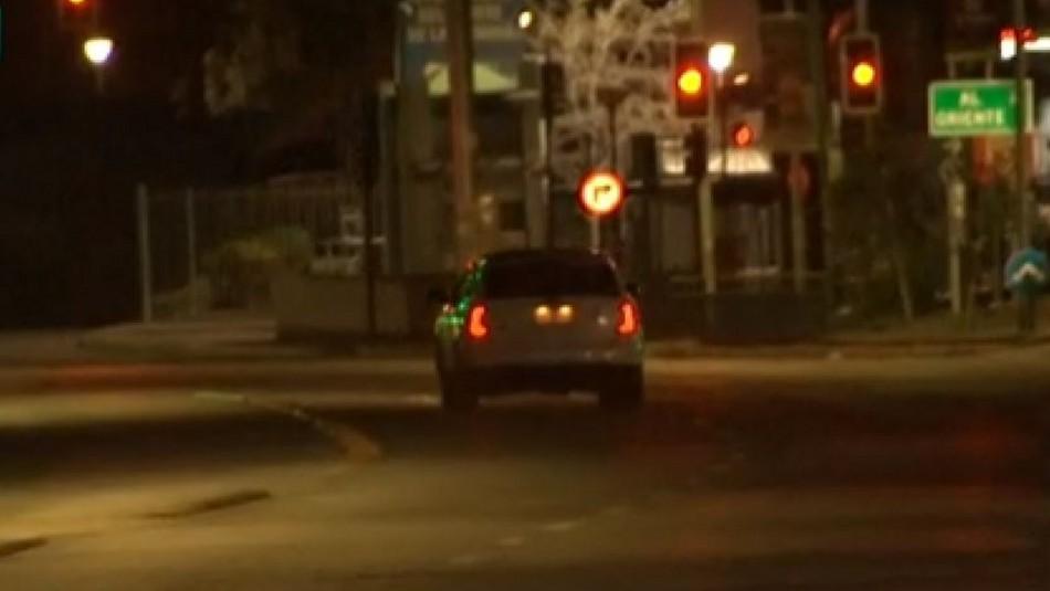 Video capta momento en que conductor se fuga de un control militar en La Florida