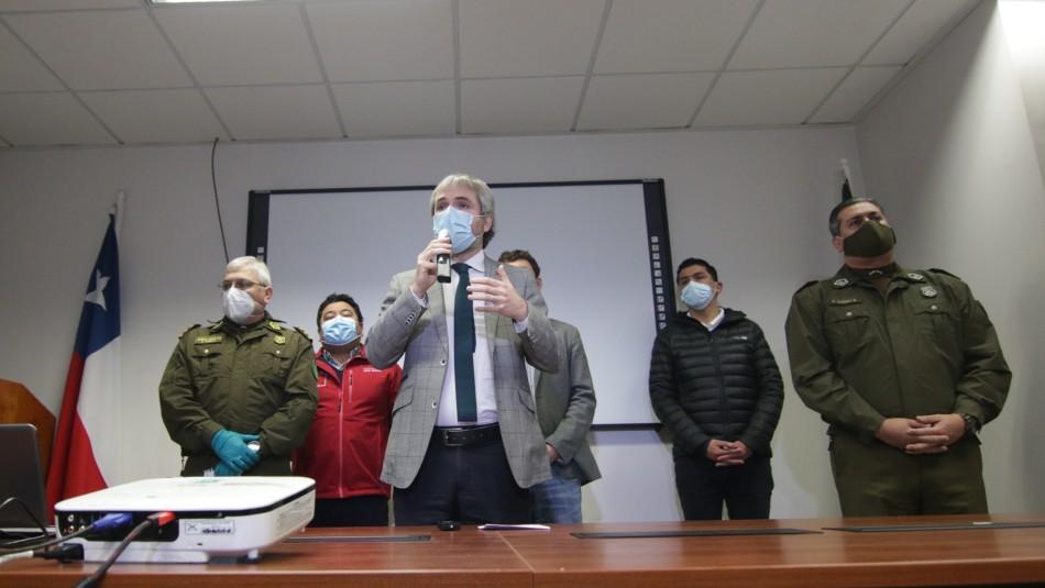 Ministro Gonzalo Blumel apuntó a caso de carabineros con Covid-19.