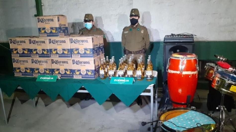 Gobierno presenta querella contra 31 personas detenidas en fiesta clandestina en Recoleta