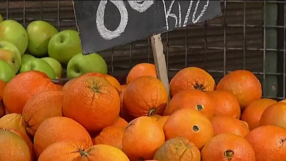 Zapallo registra leve aumento en su precio y naranja se mantiene sin variación pese a la demanda