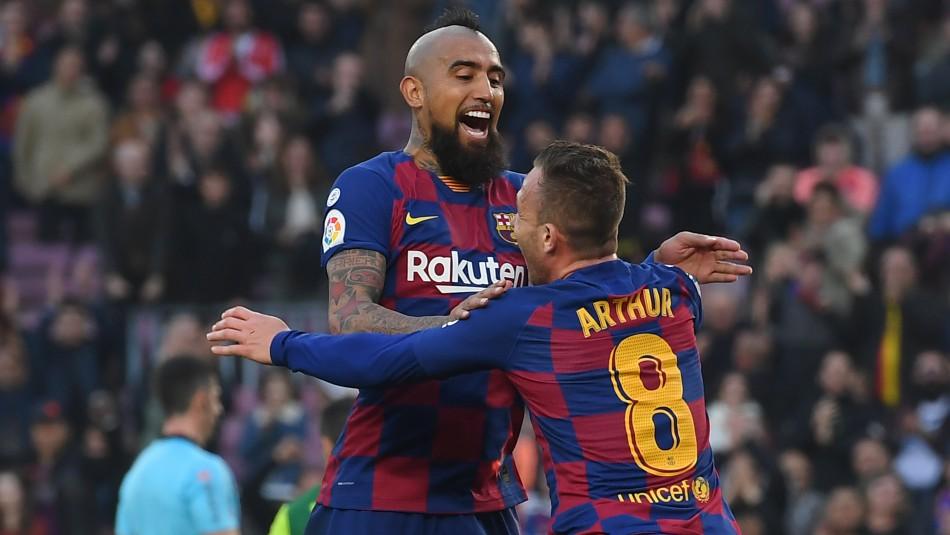Arturo Vidal apuesta en grande con Barcelona en Champions.