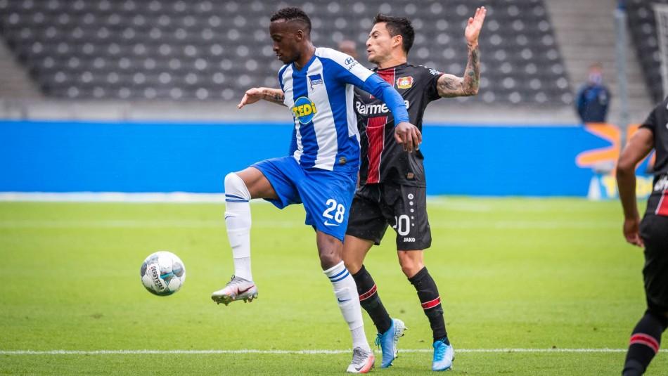 Charles Aránguiz busca triunfo con Bayer Leverkusen.