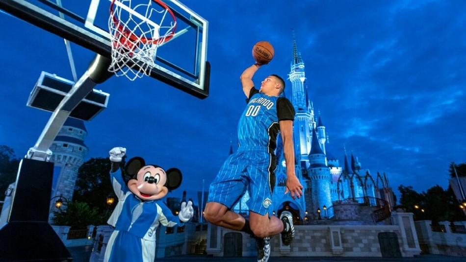 La NBA llega a Disney.