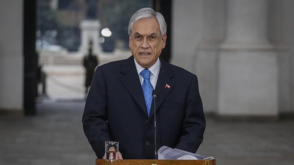 Parlamentarios de distintos sectores reaccionan a anuncio de Piñera por proyectos inconstitucionales