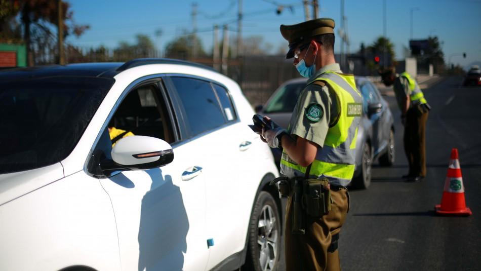 Presentan proyecto que establece multas por kilómetro avanzado cuando se incumple la cuarentena