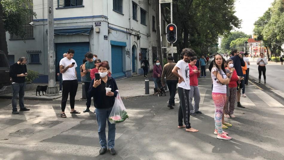 Los videos que dejó el terremoto que sacudió el Sureste de México