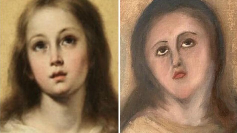 Obra Inmaculada de Murillo queda
