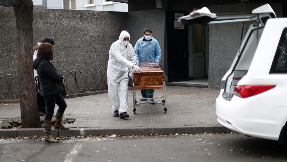 Con 226 nuevos muertos Chile supera a China en decesos totales por coronavirus