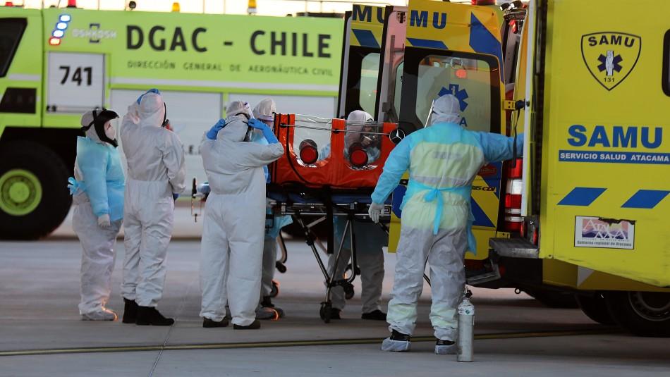 Coronavirus en Chile: La evolución de nuevos contagios, decesos y casos activos en los últimos 10 días