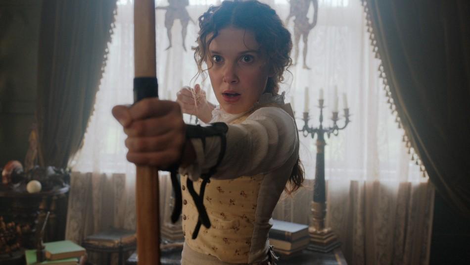 Netflix libera primeras imágenes de Millie Bobby Brown como Enola Holmes