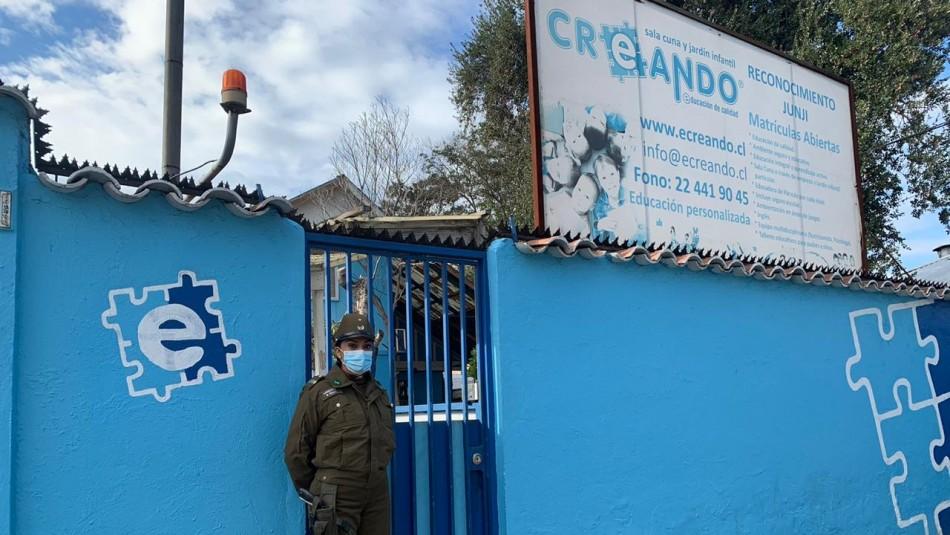 Sorprenden a jardín infantil funcionando en cuarentena: Habían 4 niños